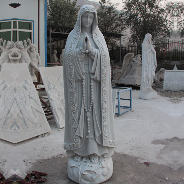 Beautiful virgin mary blessed mother our lady of fatima religious garden statues for sale TCH-63