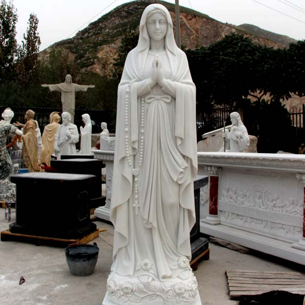 Beautiful blessed mother our lady of lourdes religious garden statues for sale TCH-88