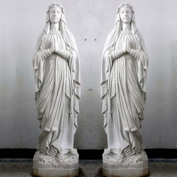 Beautiful blessed virgin mary our lady of lourdes garden statues outdoor for sale TCH-90