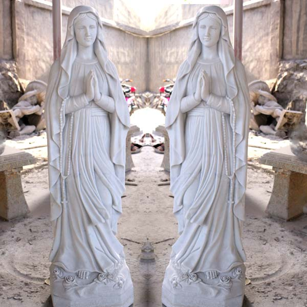 Catholic beautiful virgin mary statues lady of lourdes garden statues for sale TCH-89