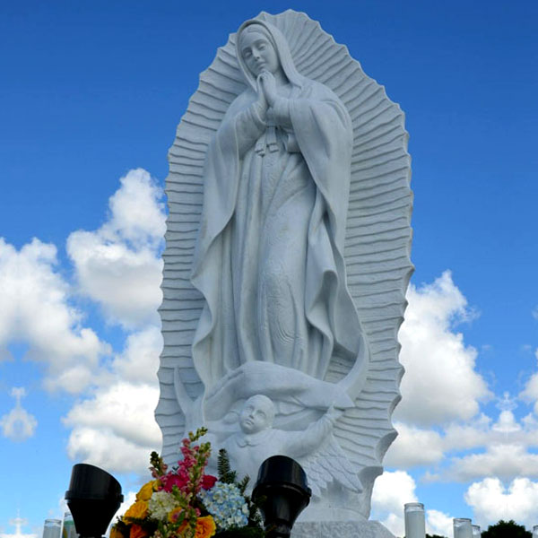 Beautiful virgin mary our lady of Guadalupe religious garden statues for catholic church decor TCH-74