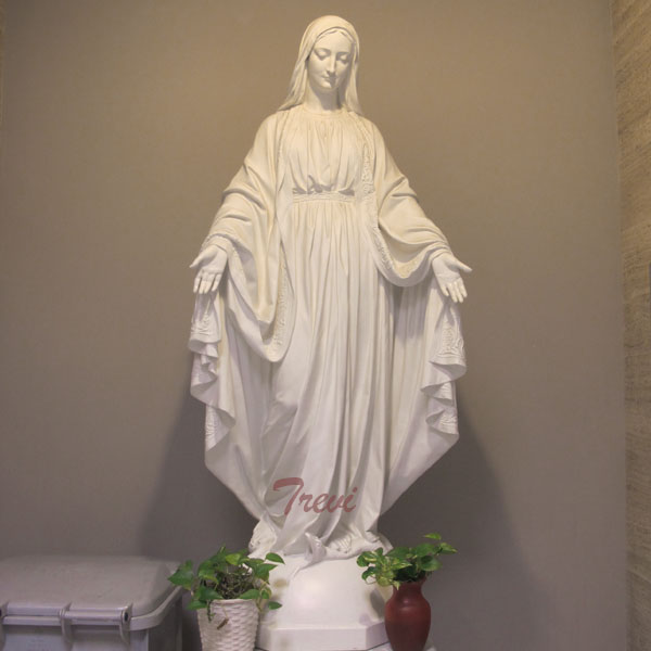 Lady of grace holy virgin mary statue for catholic garden decor TCH-105