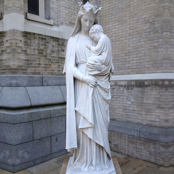 Large religious garden statues our lady of mount carmel to buy TCH-85