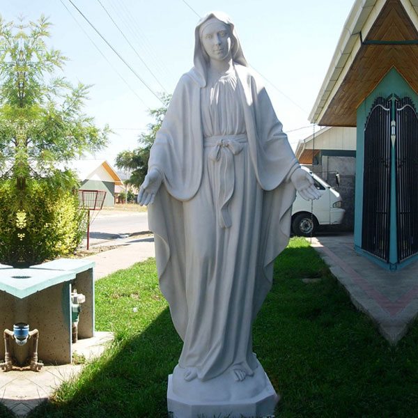 Buy holy mary our lady of grace outdoor religious statue for catholic church TCH-106