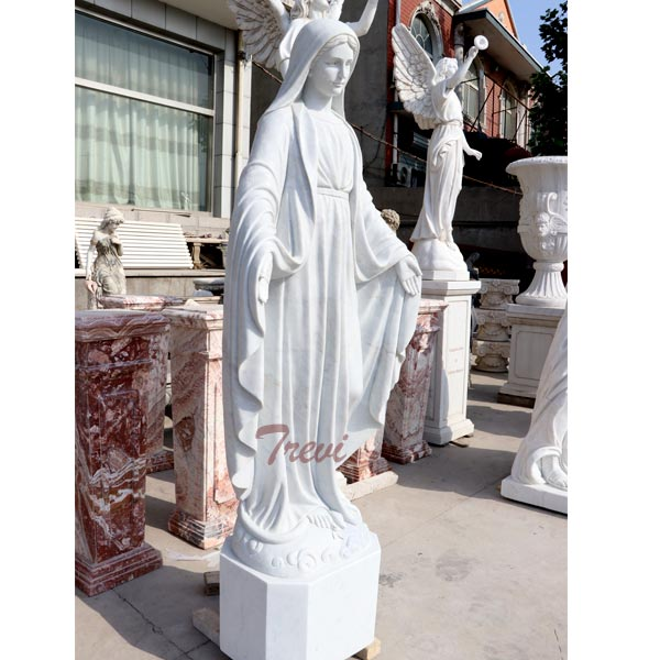 Holy mary our lady of grace catholic outdoor garden sculptures for sale TCH-102