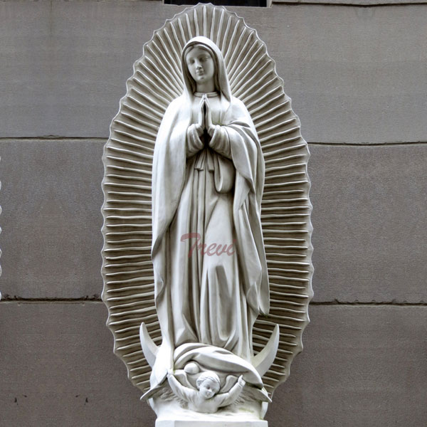 Outdoor beautiful virgin mary Virgen de guadalupe garden statue 36 inches to buy TCH-200