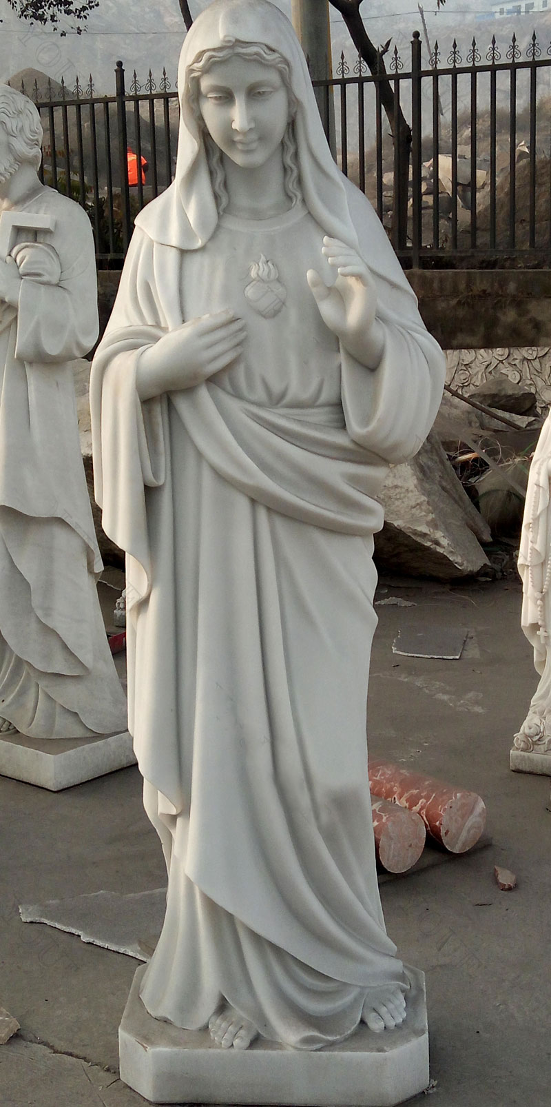 Buy holy mother immaculate conception of mary religious gardn statues online