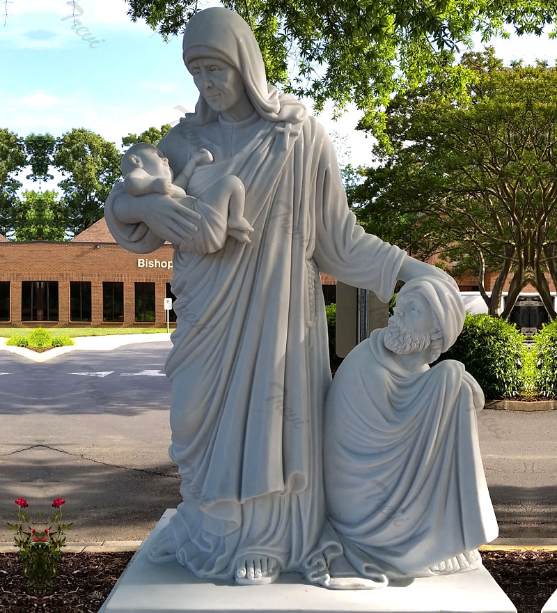 Buy st mother teresa statue online for church outdoor decors