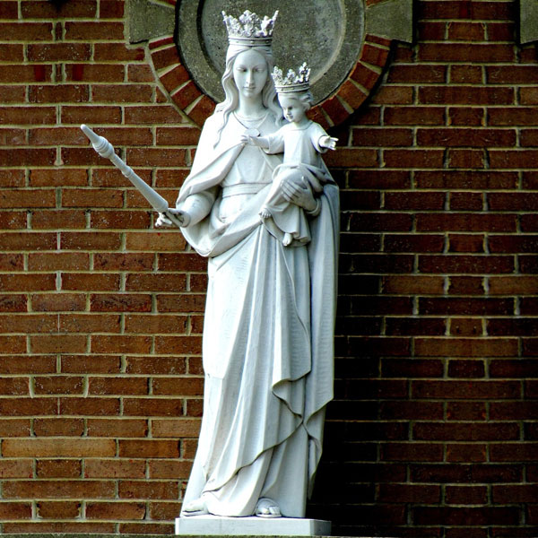 Catholic church our lady of mount carmel garden statue for sale TCH-225