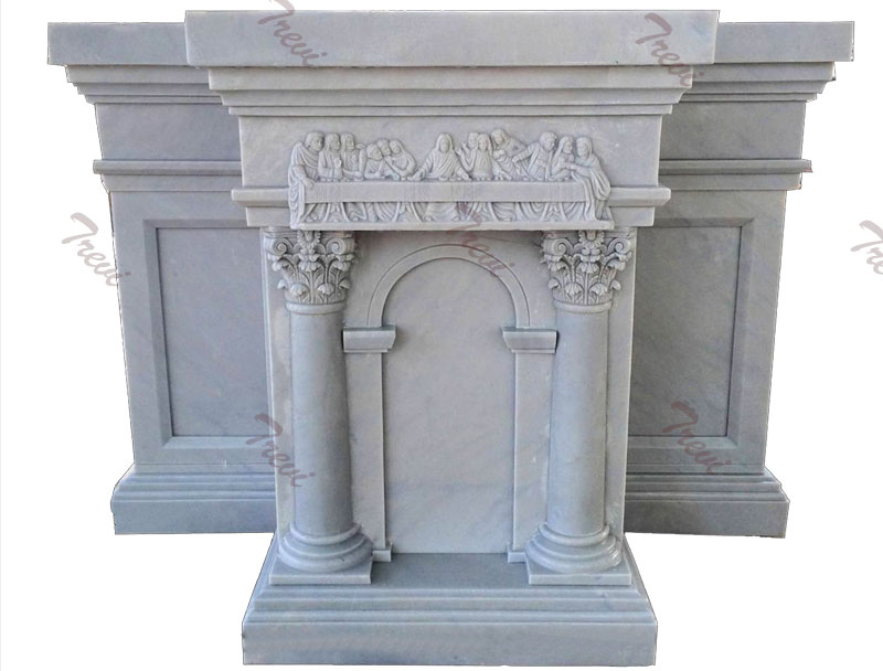 Church decor white marble podiums and pulpits furniture suppliers
