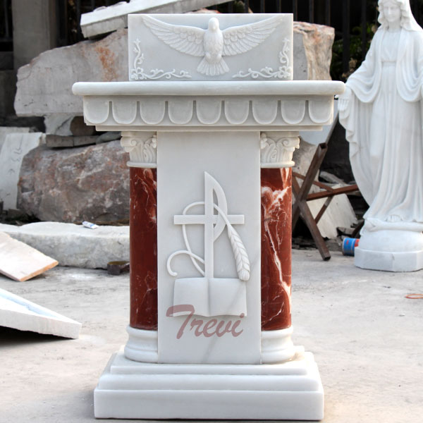 Classical church marble lecterns and pulpits marble furniture for sale TCH-207
