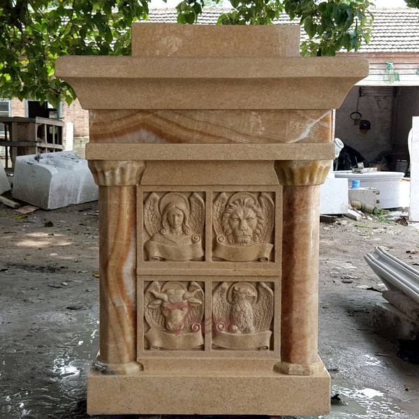 Custom antique marble church pulpits stand modern designs to buy TCH-210