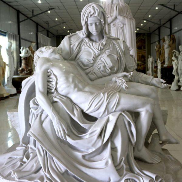 Michelangelo's Pieta Church religious garden statues online sale TCH-48