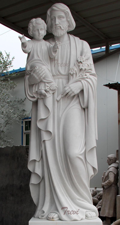 Saint joseph catholic saint statues for religious garden decors