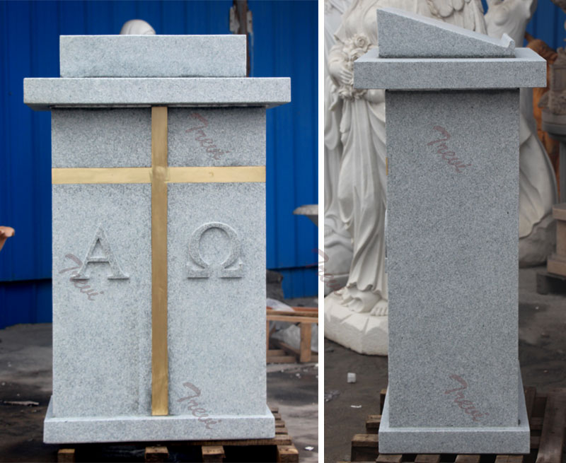 Where can i buy a white marble modern church pulpits stands.
