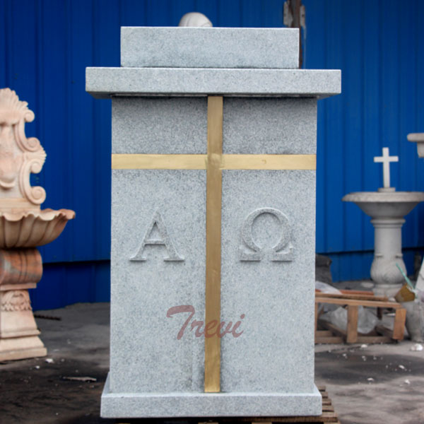 Where can i buy a white marble modern church pulpits stands TCH-209