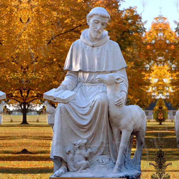 Where to buy outdoor lawn statues saint francis of assisi garden decor TCH-203