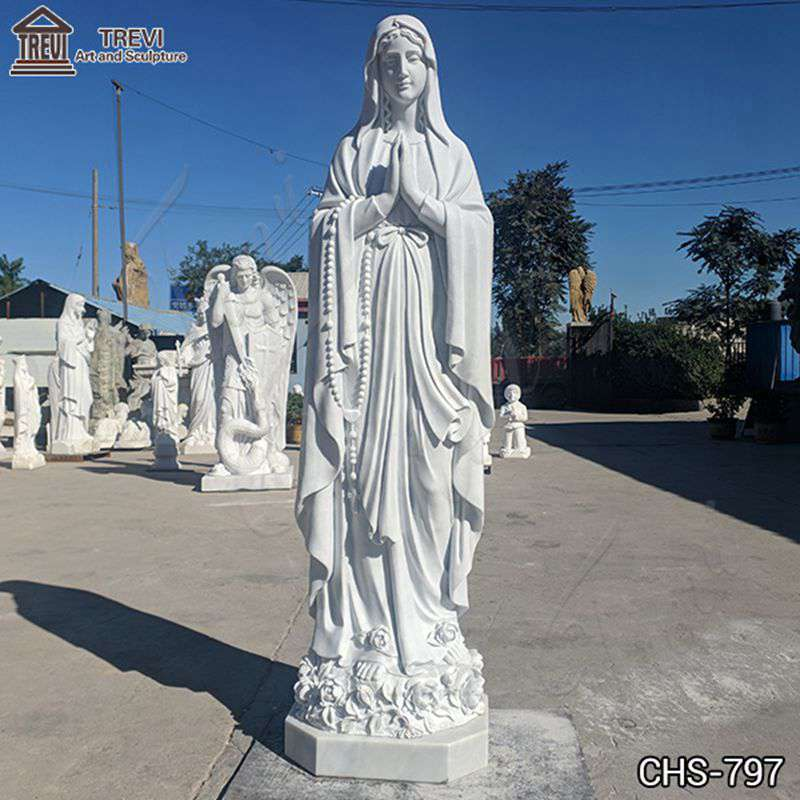 our Lady of Lourdes statues outdoor