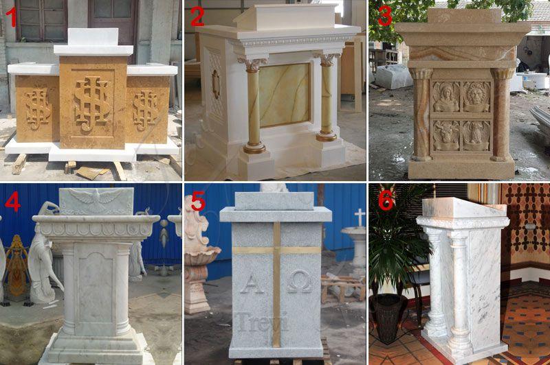 marble pulpit