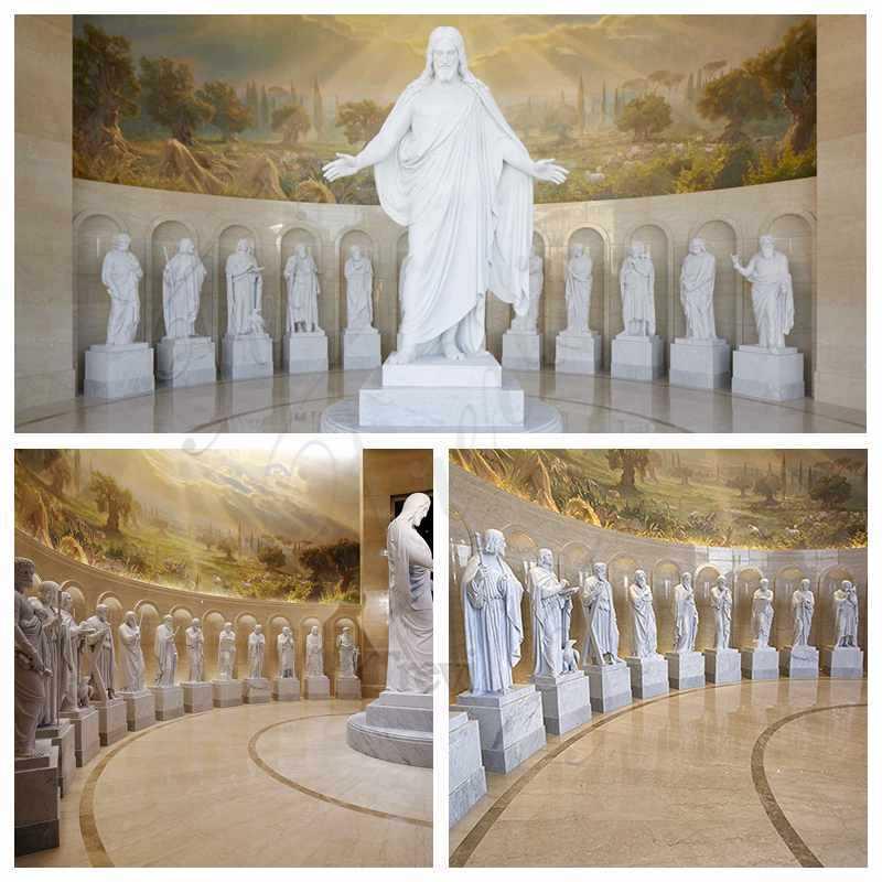 Life-Size Jesus Statue Church