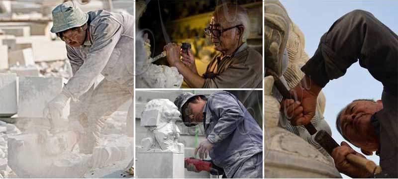 Life-size jesus statues
