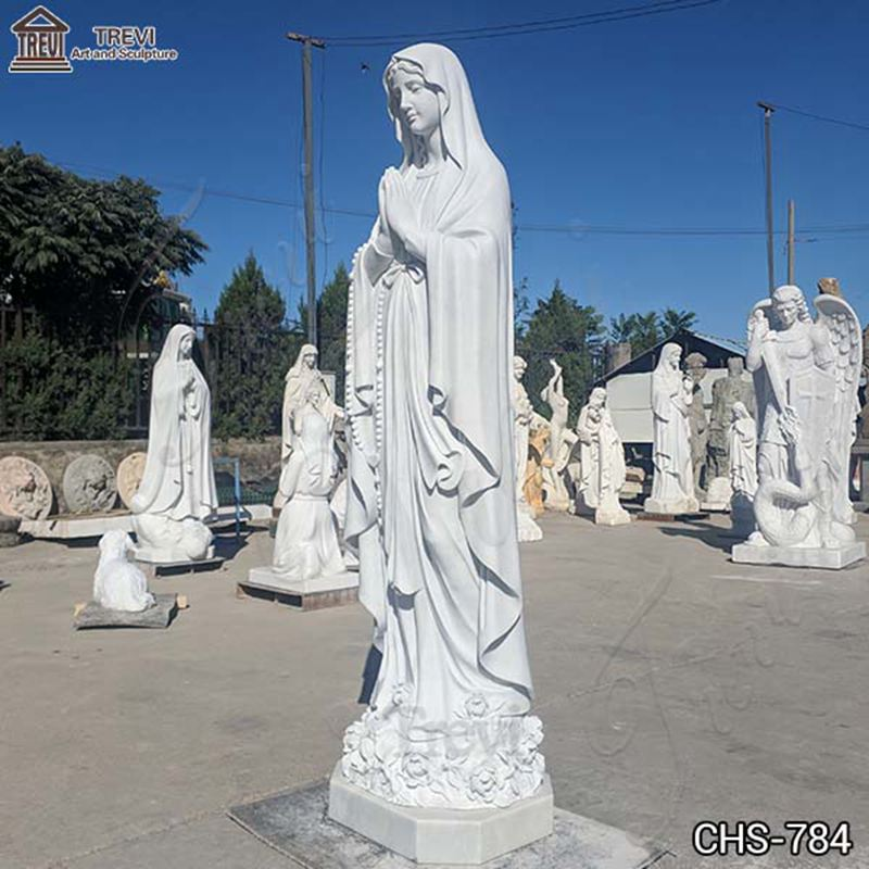 Our Lady of Lourdes statue
