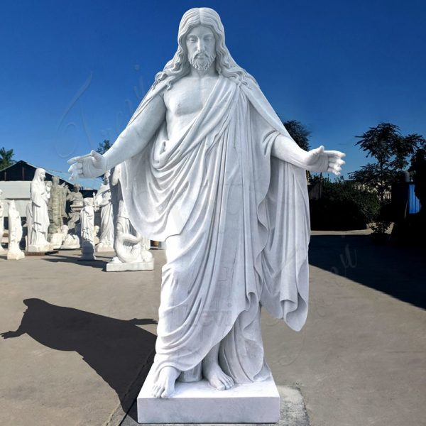 Marble Life-Size Jesus Statue Church Decoration for Sale CHS-826