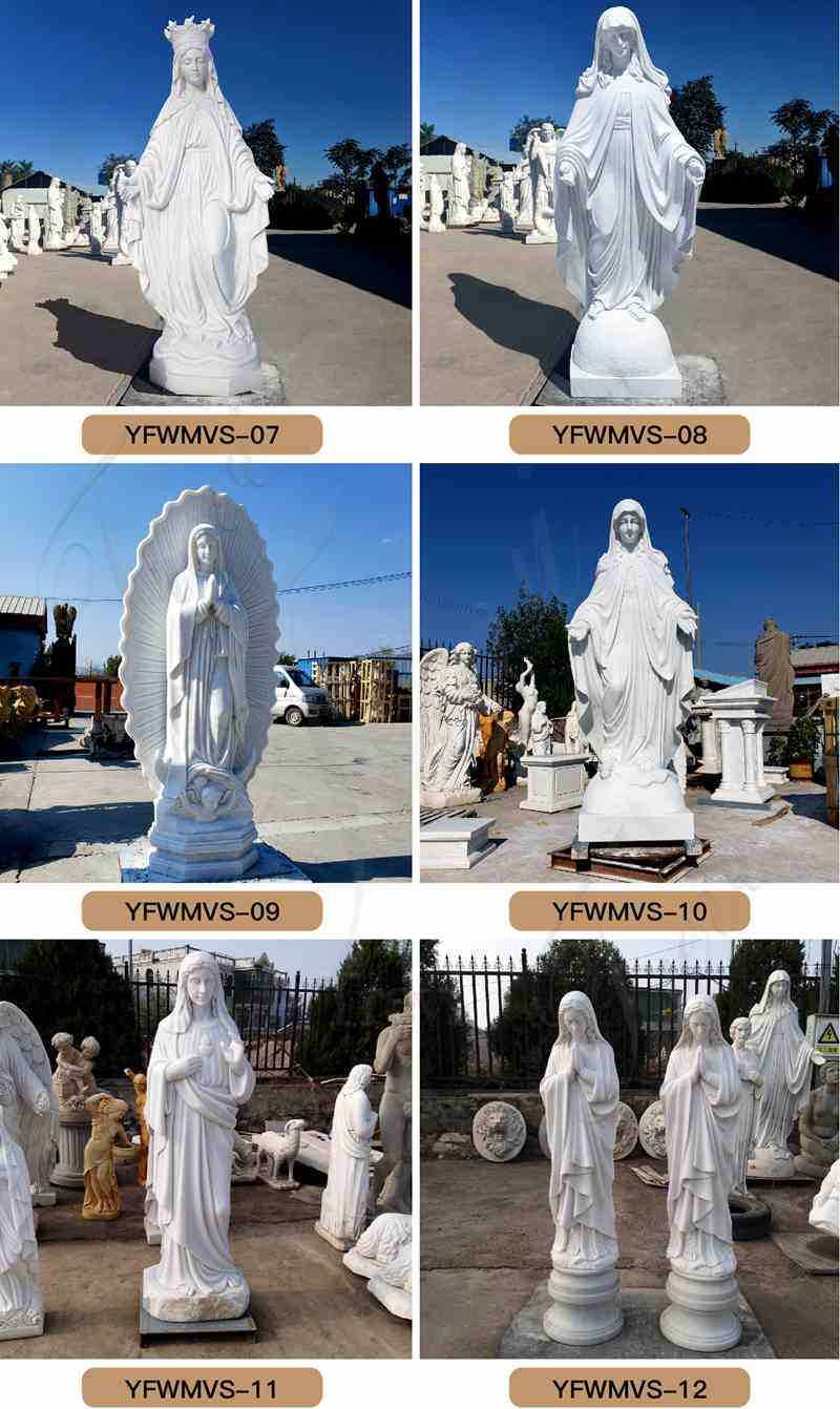 mother mary statues