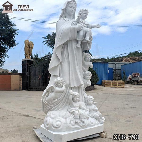 Catholic Life Size Virgin Mary Statue Church Decor for Sale CHS-793