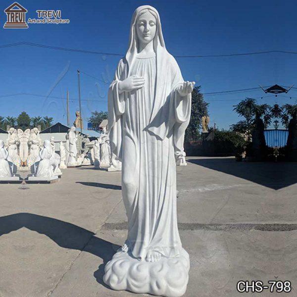 Virgin Mary Outdoor Statue Catholic Church Garden Decor Factory Supply CHS-798